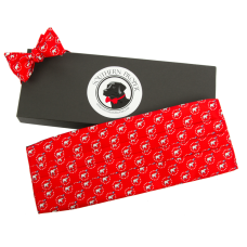 Red Elephant Cummerbund